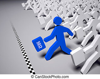 SEO  - Race to climb the search results by Seo