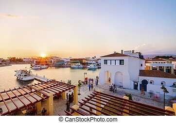 Limassol Marina, Cyprus - The beautiful Marina in Limassol...