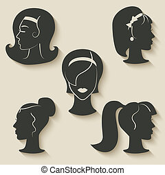 women hairstyle icons