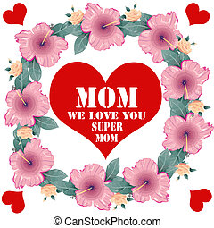 We love you mom Clipart Vector Graphics. 7 We love you mom ...
