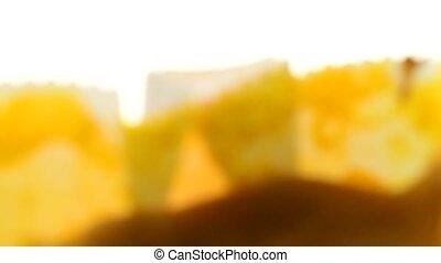 Sponge cake, traditional desert from Portugal
