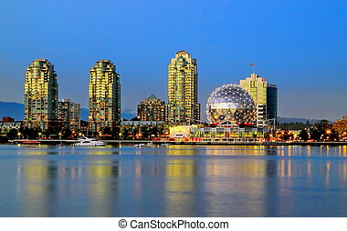 Vancouver Science World museum - Vancouver City Downtown...
