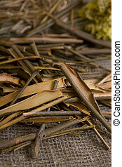 Willow bark medical - White willow bark medical herb, used...
