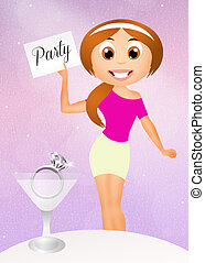 Engagement party Clipart and Stock Illustrations. 9,407 Engagement ...