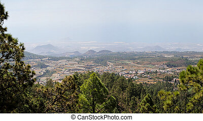 View at Teide National Park in Spain