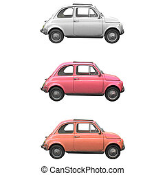 Fiat 500 - Vintage Fiat 500 Italian car from the sixties