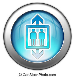 Icon, Button, Pictogram Elevator - Icon, Button, Pictogram...