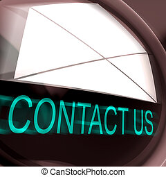 Contact Us Postage Means Feedback And Discussing - Contact...