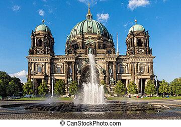 Berlin - The Dome in Berlin in Germany.