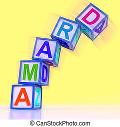 Drama Word Show Acting Play Or Theatre - Drama Word Showing...