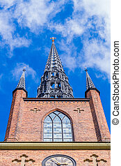 Riddarholmen Church front view
