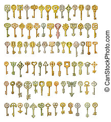 Spielautomat Zeichnung Schlüssel