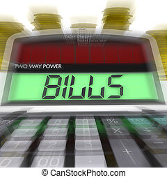 Bills Calculated Shows Accounts Payable And Due