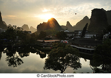 Landscape of Yangshuo, China
