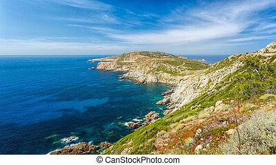 La Revellata near Calvi in Corsica - La Revellata near Calvi...