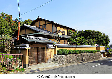Traditional Japanese building