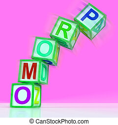 Promo Letters Mean Bargain Reduced Price Or Special