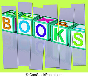 Books Word Shows Novels Non-Fiction And Reading - Books Word...