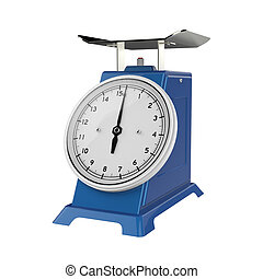 weight scale - The objects made at 3d