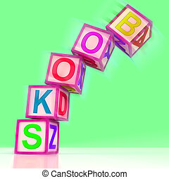 Books Word Show Fiction Non-Fiction And Library - Books Word...
