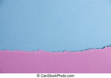 Pink and Blue Background - Pink and Blue Paper Background or...