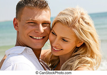 Couple enjoying life