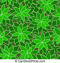 abstract green leaf plant seamless background
