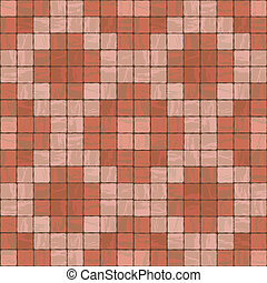 Seamless texture of stonewall tile