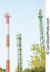 Modern antenna Tower