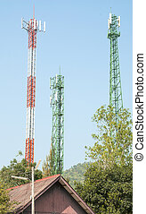 Modern antenna Tower