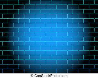 Brick wall - Texture of a brick wall