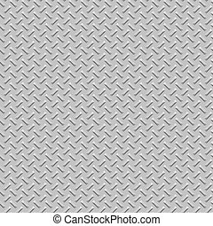 Diamond plate metal seamless texture background