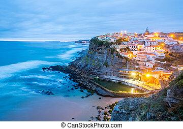 Azenhas do Mar village Sintra Portugal - Azenhas do Mar...