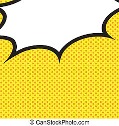 Speech Bubble Pop-Art Style. - Comic Speech Bubble, Cartoon....