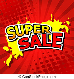 Super Sale - Vector illustrator EPS 10