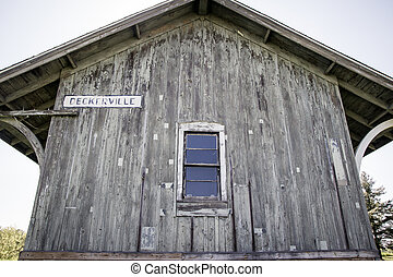 The Old Depot - Historic train depot for Deckerville,...