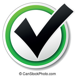 Vector checkmark icon