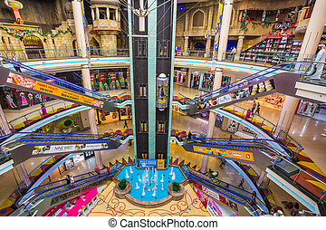 Central Souq Mega Mall of Sharjah - SHARJAH, UAE - OCTOBER...