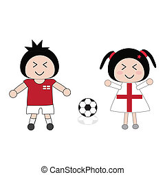 England football Vector Clipart Illustrations. 755 England ...