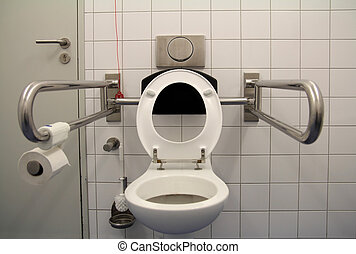 toilette, Handicapé