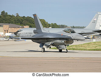 f-16 belguim air force - belguim air force f16 taxing for...