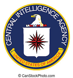 CIA Logo - Logo of The Central Intelligence Agency of the...