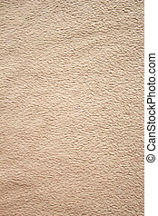 Fleece - Bright photo of a texture of beige fleece.