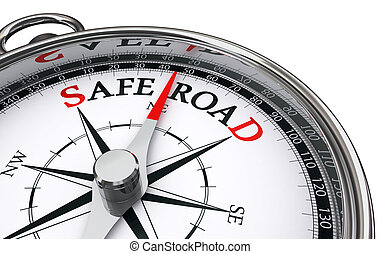 safe road conceptual compass