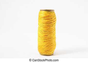 Roll of Twine isolated on a White Background