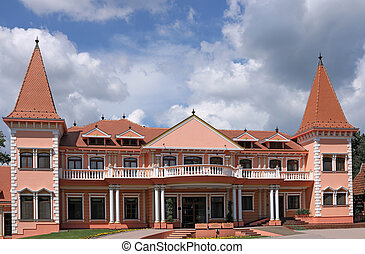 castle resort Eastern Europe Serbia