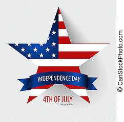 Happy independence day card United States of America....