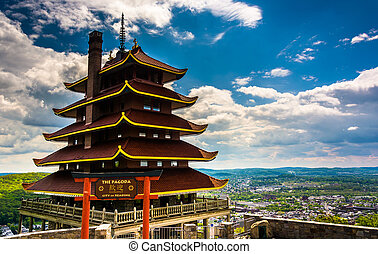 The Pagoda on Skyline Drive in Reading, Pennsylvania