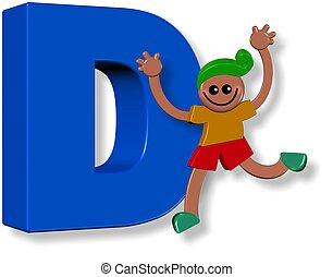 Alphabet D Boy