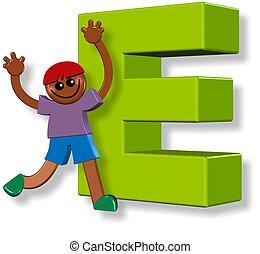 Alphabet E Boy